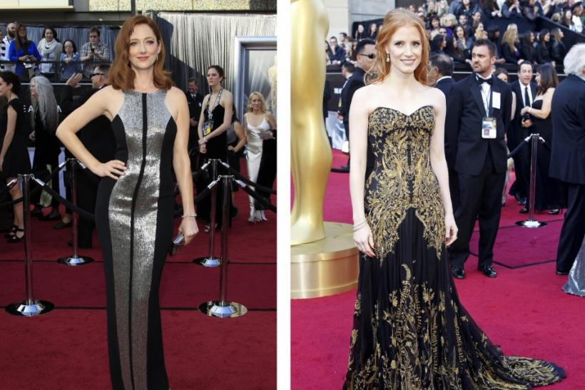Judy Greer and Jessica Chastain