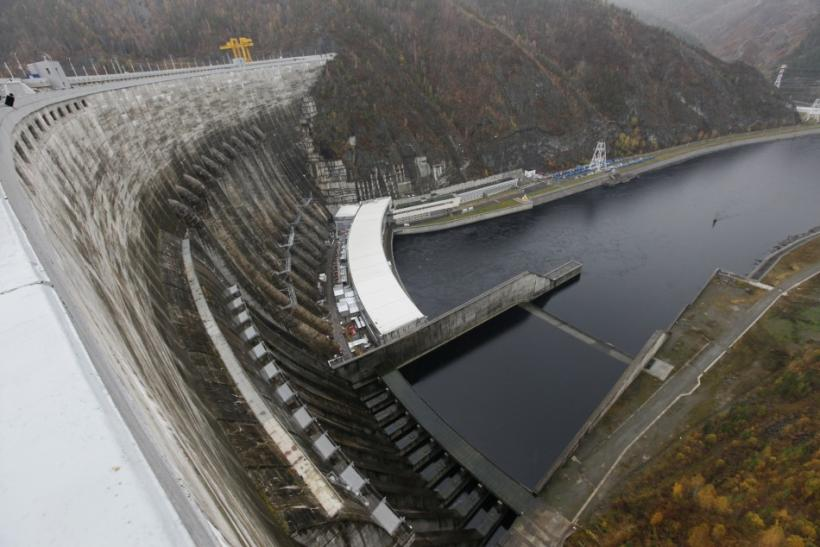 Shown is a general view of the dam at Russia's largest hydroelectric plant Sayano-Shushenskaya, about 160 miles (258 kilometers) northwest of the Siberian city of Kyzyl last Oct. 12.