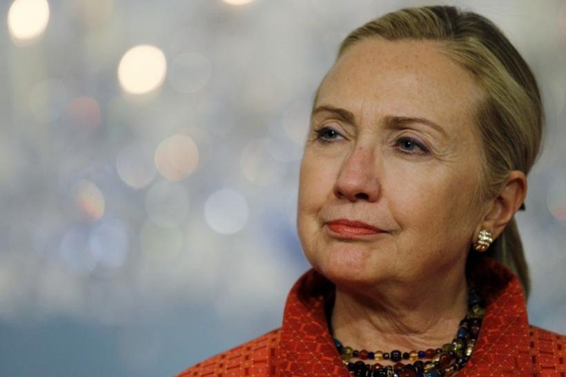 Hillary Clinton criticised embattled Syrian president Bashar al-Assad