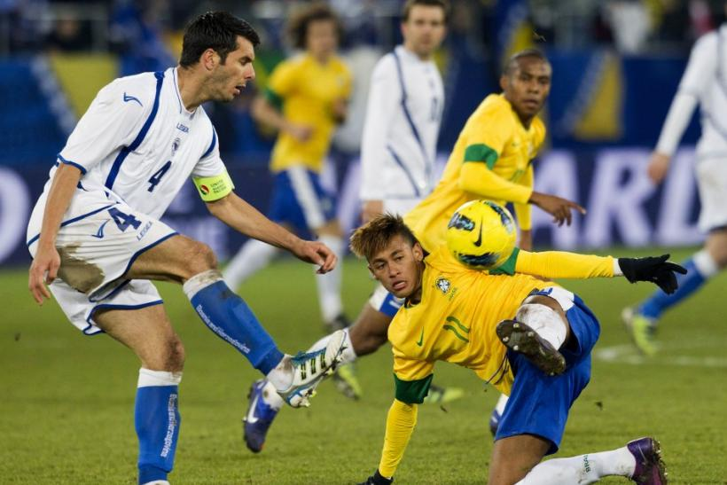 Brazil v Bosnia took place in St. Gallen, Switzerland on Tuesday. Watch the highlights from the exhibition match, featuring Brazilian Neymar, here.
