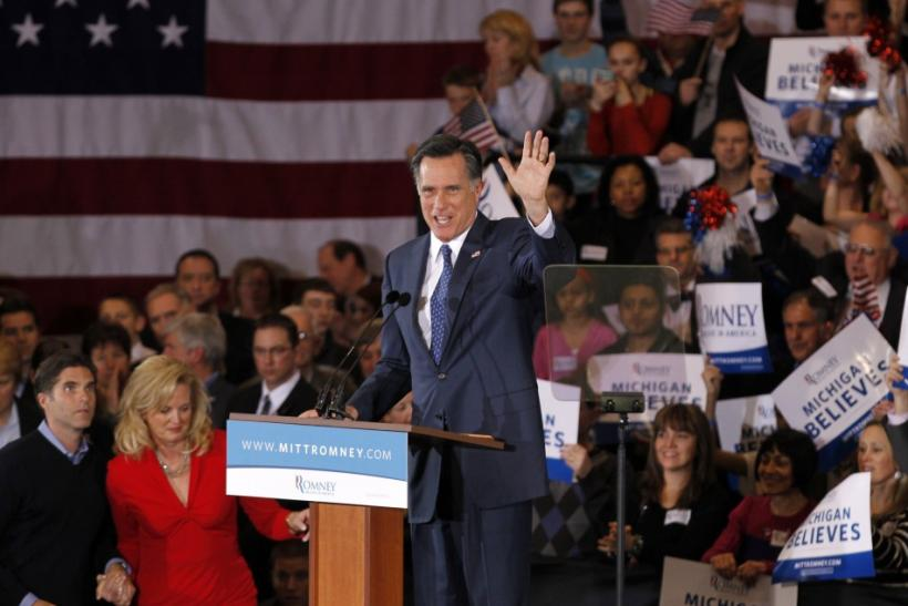 Mitt Romney Wins Michigan, Arizona