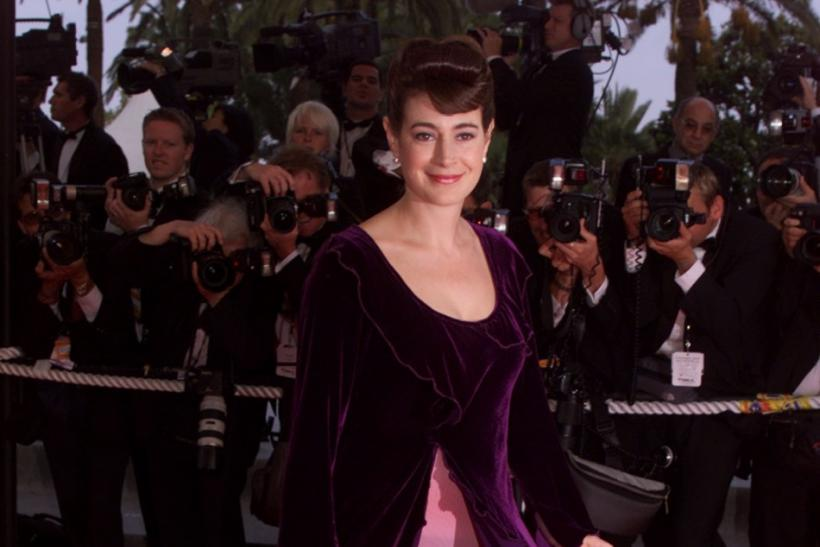 Sean Young twirls her dress on the Cannes red carpet in 2000. According to our information, she was not asked to leave.