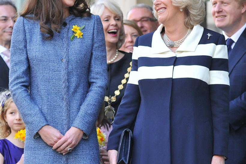Kate Middleton, Camilla