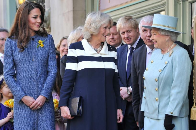 Kate Middleton, Camilla, Duchess of Cornwall, Queen Elizabeth