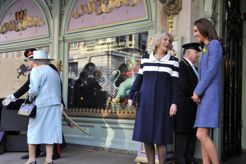 Queen Elizabeth, Camilla, Duchess of Cornwall, Kate Middleton