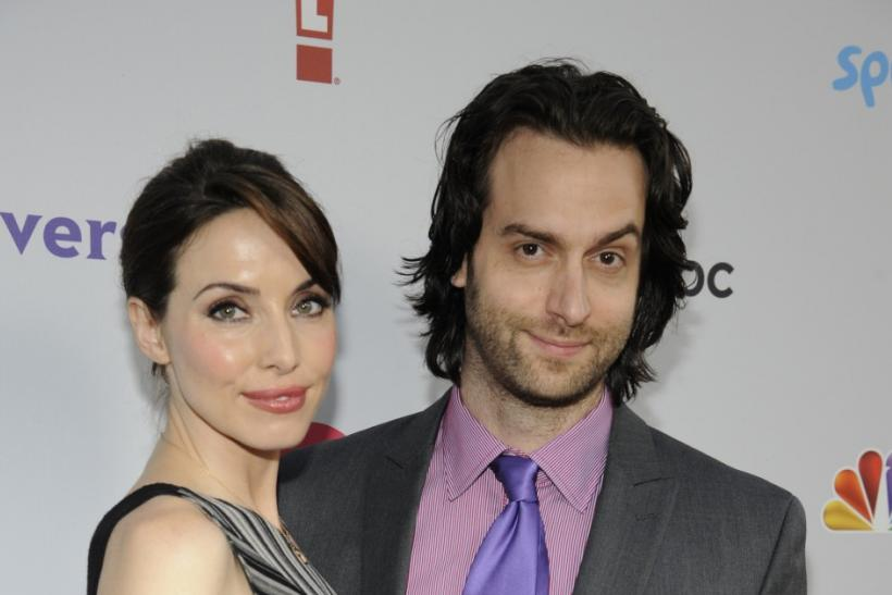 Whitney Cummings and Chris D'Elia