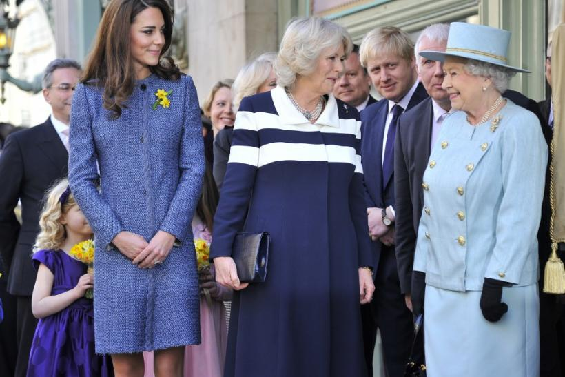Kate Middleton's Day Out with Royal Ladies: Duchess's First Public Photos with Queen & Camilla