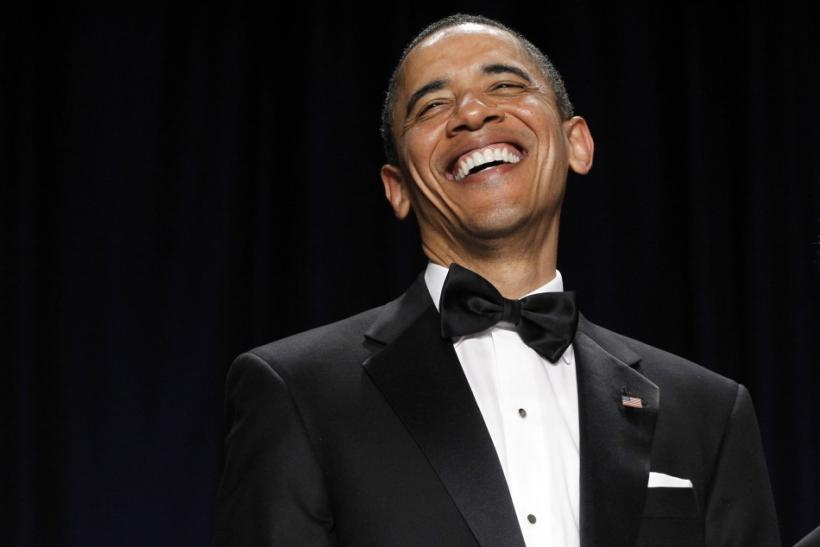 Obama Pokes Fun At Aziz Ansari: 'I've Got More Twitter Followers Than You!'