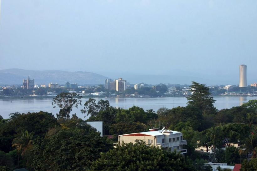 A view of Brazzaville, the capital of the Republic of Congo, as seen from Kinshasa, capital of the neighbouring Democratic Republic of Congo October 19, 2005.