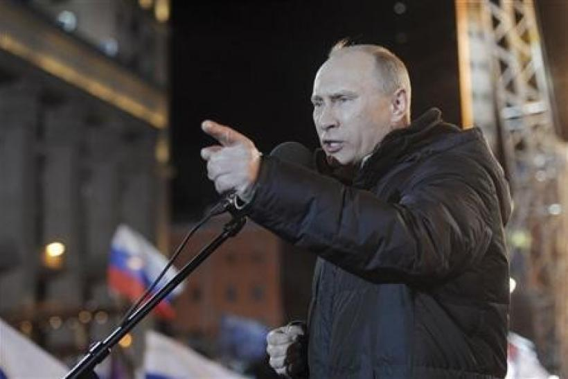 Putin Wins Russian Presidential Elections