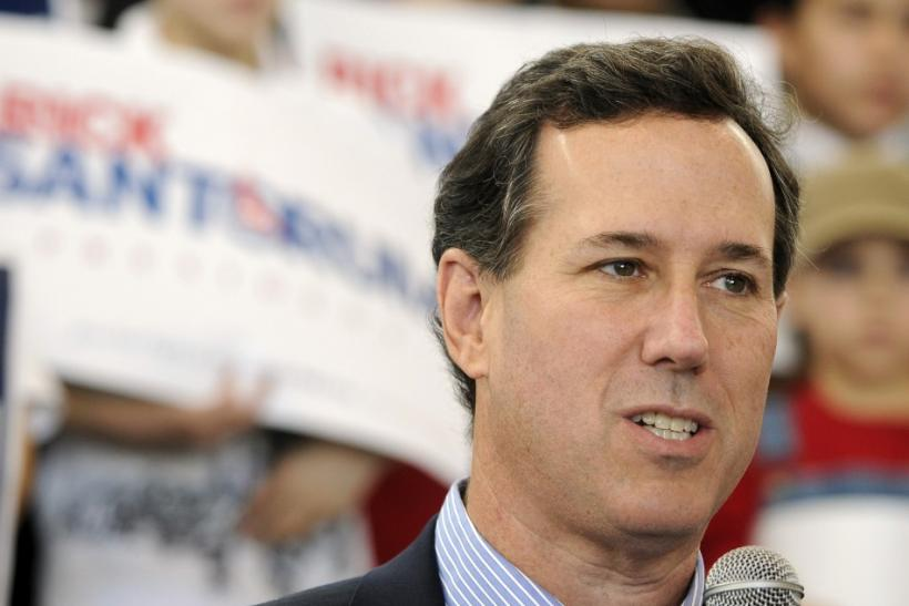 Rick Santorum Wins