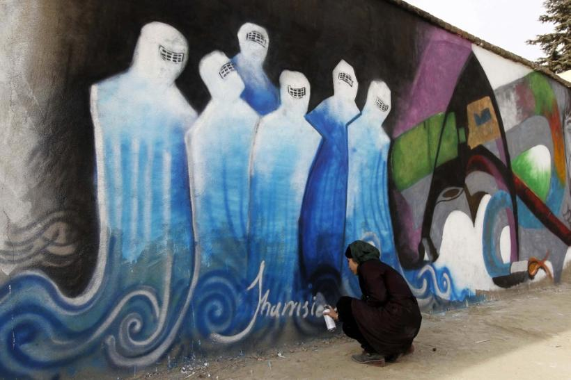 Political Graffiti in Afghanistan