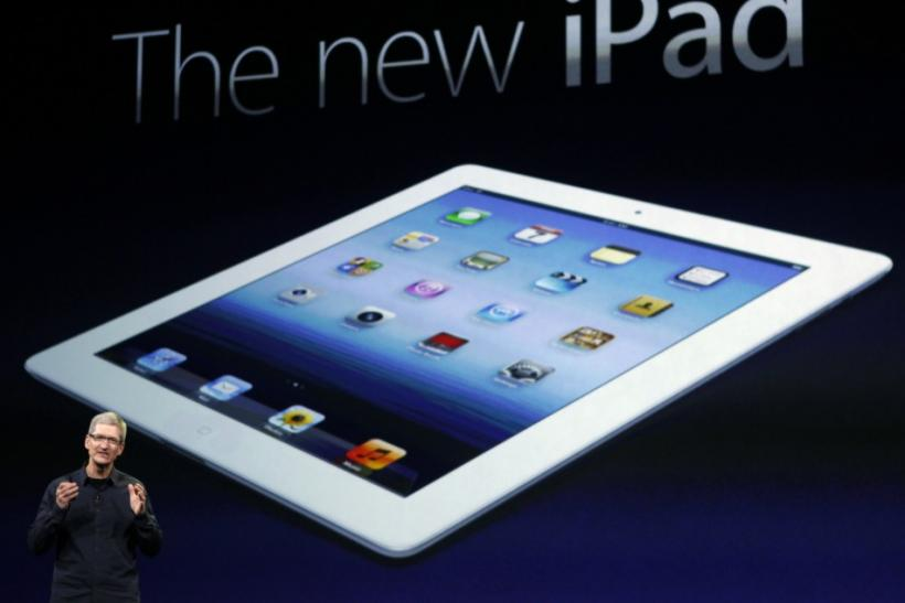 "Apple unveiled the new iPad in San Francisco on Wednesday, which features an A5X processor, a Retina Display with 2048 x 1536 resolution, and a new ""iSight"" camera."
