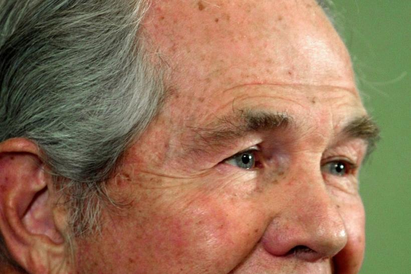 It's not easy being green. Pat Robertson supports the legalization of marijuana.