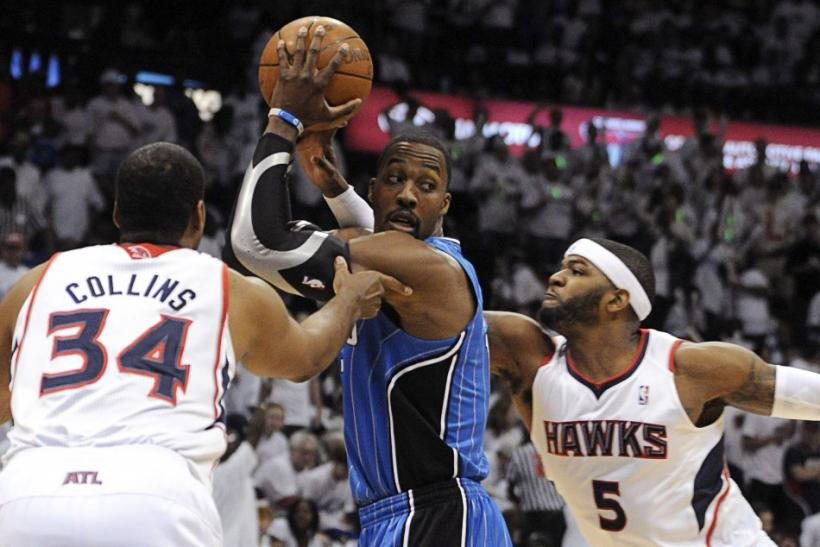 Josh Smith and Atlanta beat Dwight Howard and Orlando in the first round of the playoffs last year.