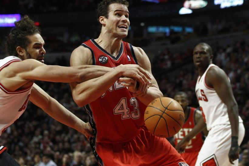 Kris Humphries has constantly been booed this season when playing on the road.