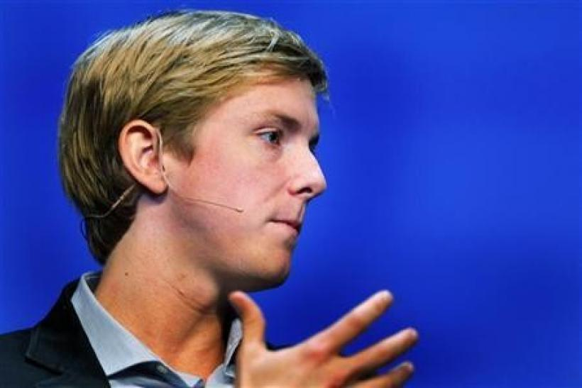 Chris Hughes, co-founder of Facebook, speaks at the Charles Schwab IMPACT 2010 conference in Boston October 28, 2010.