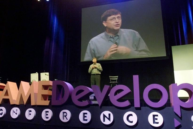 Bill Gates in a previous version of GDC in San Jose