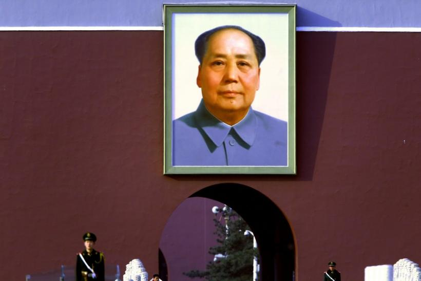 China's Former Chariman Mao Portrait