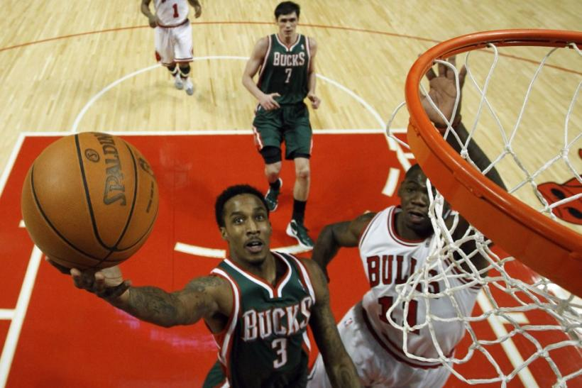 Brandon Jennings is averaging 18.7 points and 5.6 assists per game for Milwaukee this season.