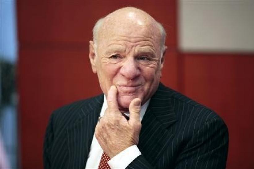 CEO of of IAC/InterActiveCorp, Barry Diller, speaks at the Reuters Global Media Summit in New York in this file photo taken December 2, 2009.
