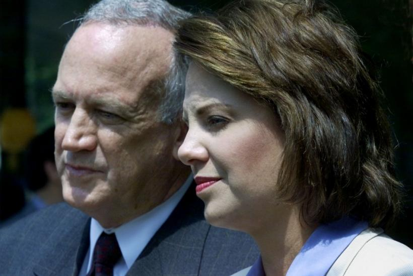 JOHN AND PATSY RAMSEY ADDRESS MEDIA AFTER POLICE INTERVIEW.