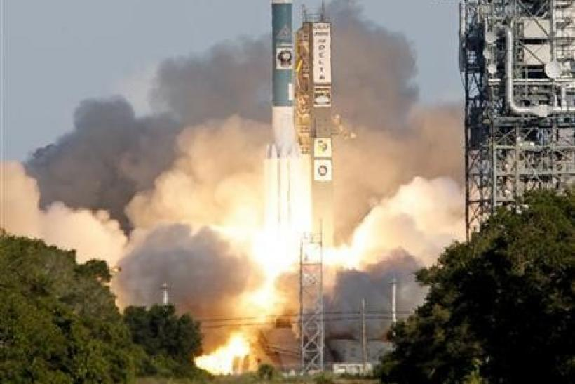 A Boeing Delta 2 rocket lifts off from the Cape Canaveral Air Force Station in Cape Canaveral, Florida, June 21, 2006.
