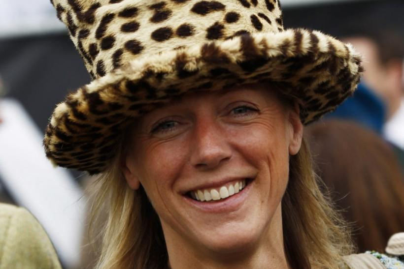 Candida Baker, wife of Racehorse trainer George Baker