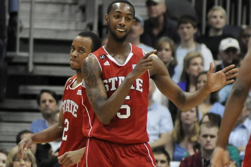 C.J. Leslie leads North Carolina State in scoring with 14.6 points per game.