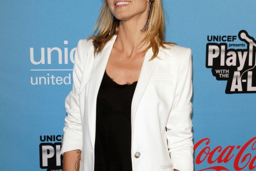Heidi Klum, Kristen Bell and Other Celebrities at the UNICEF Karaoke Benefit Event