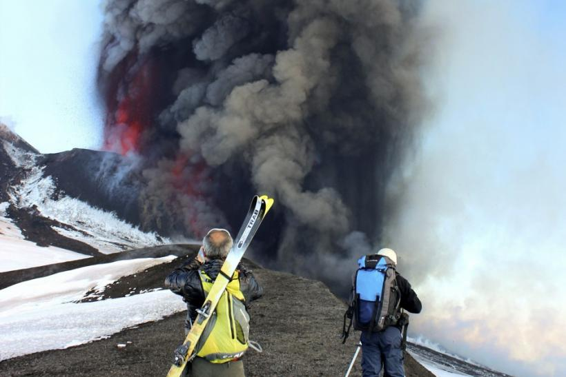 Mount Etna's March 18, 2012 Eruption