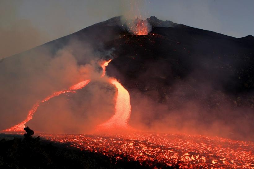 Mount Etna's Eruption in 2006