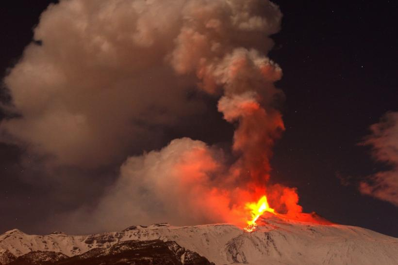 Mount Etna's Eruption in February 2012