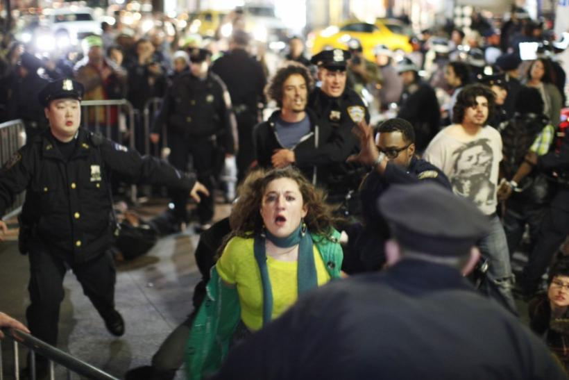 Occupy Wall Street 6-Month Anniversary: Pictures of Arrests [PHOTOS]
