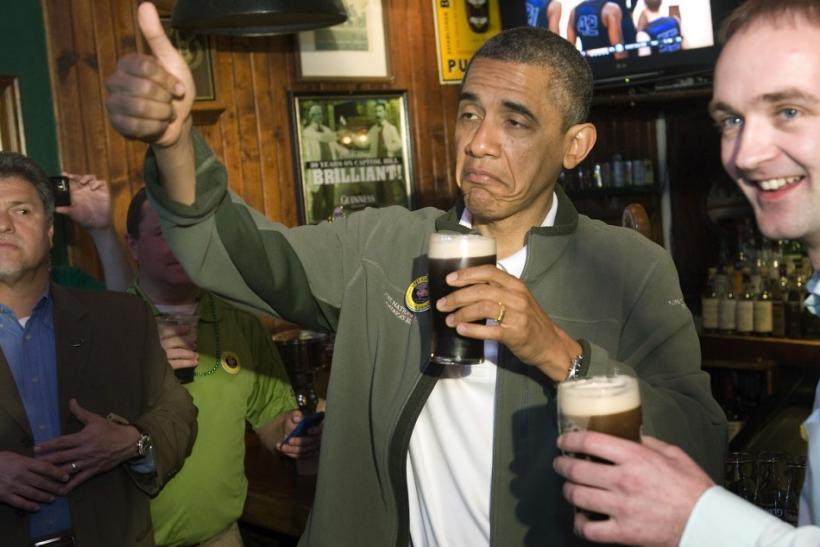 2012: Someone Loves His Guinness