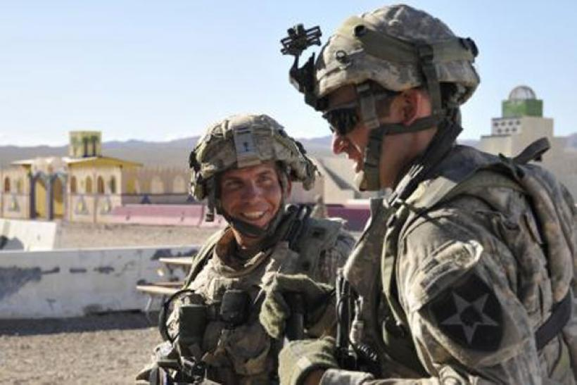 Handout photo of Staff Sgt. Robert Bales at Fort Irwin