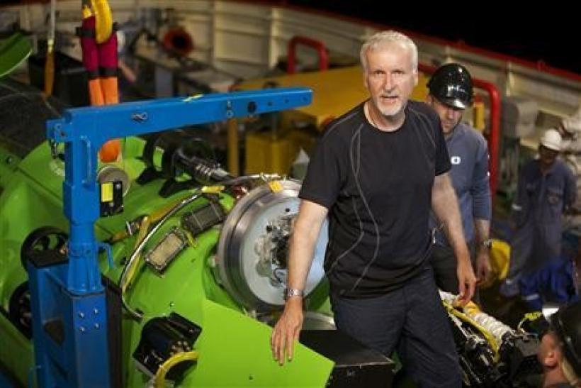 """Titanic"" filmmaker James Cameron"