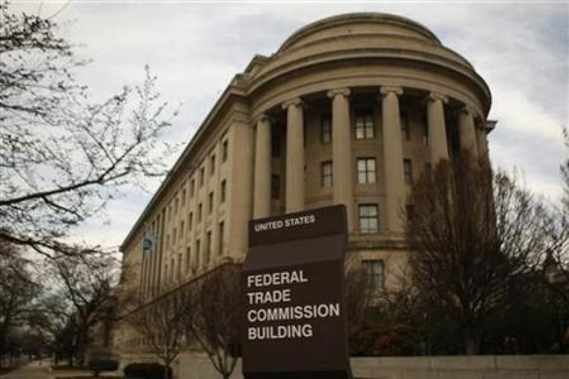 The Federal Trade Commission building is seen in Washington on March 4, 2012.