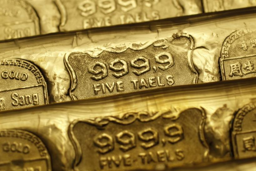 Gold bars in Hong Kong