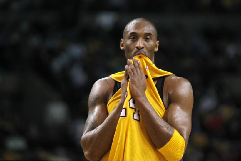 Kobe Bryant finished second in the NBA in scoring last season.