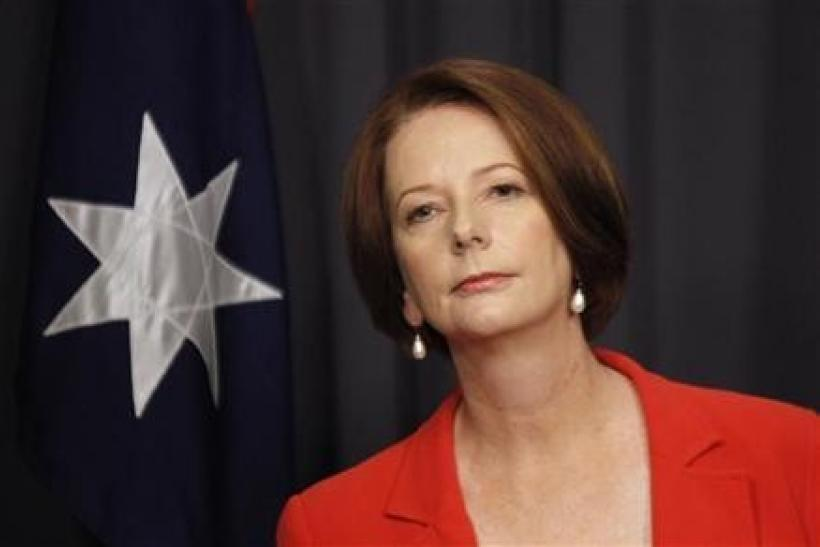 Prime Minister Julia Gillard announces early withdrawal of troops from Afghanistan