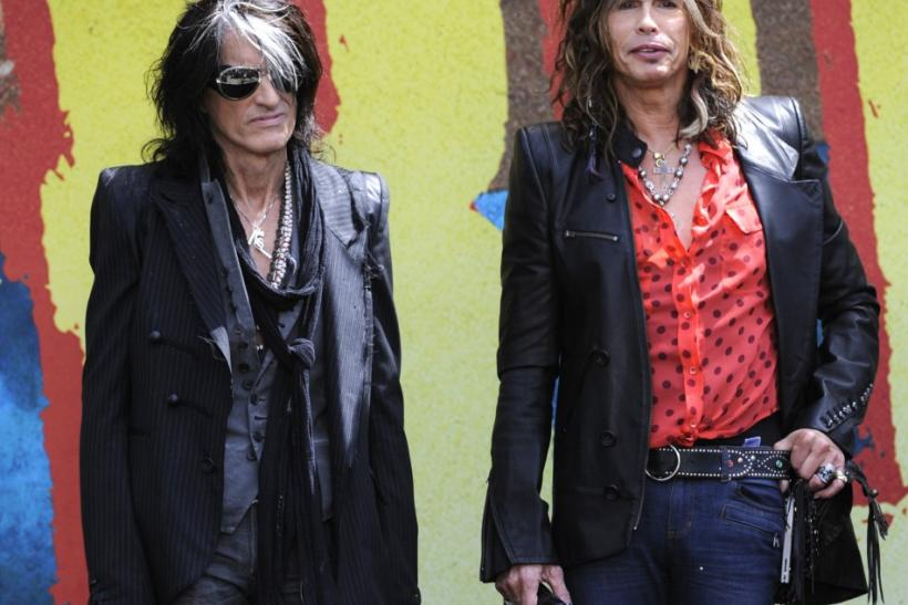 Aerosmith's Steven Tyler and Joe Perry