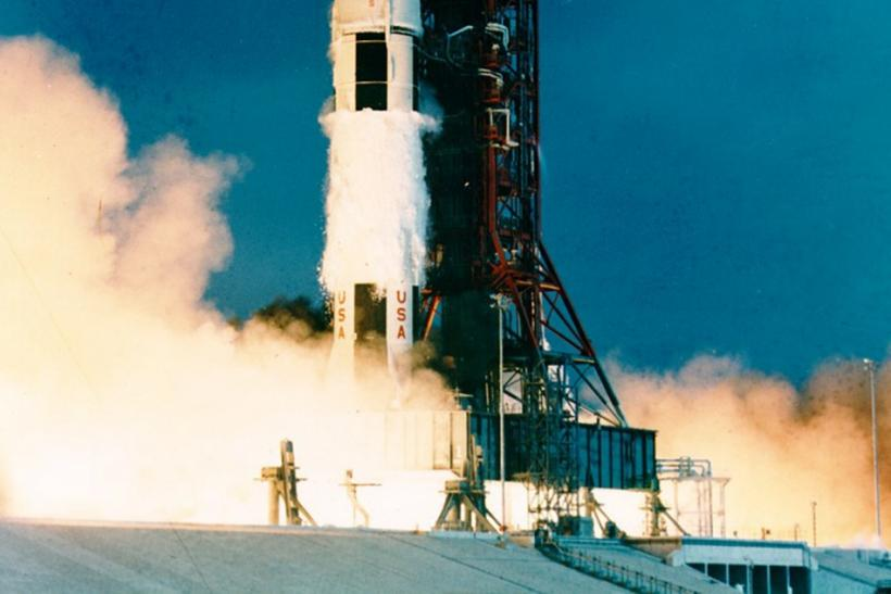 Amazon.com Founder Jeff Bezos Finds And Aims To Recover Apollo 11 Engines