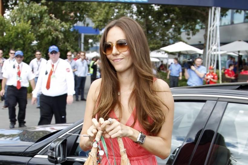 Stunning Formula One Girlfriends at the 2012 Malaysian F1 Grand Prix