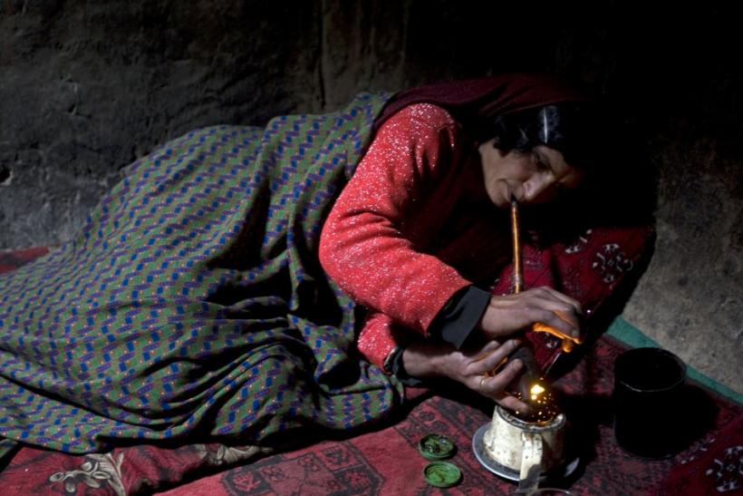 Lifting The Veil on Afghanistan's Female Addicts