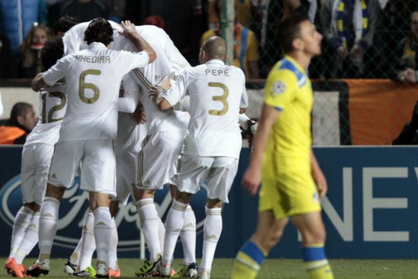 Watch a live stream online as Real Madrid defend a 3-0 first-leg advantage over Apoel in the Champions League quarter-finals.