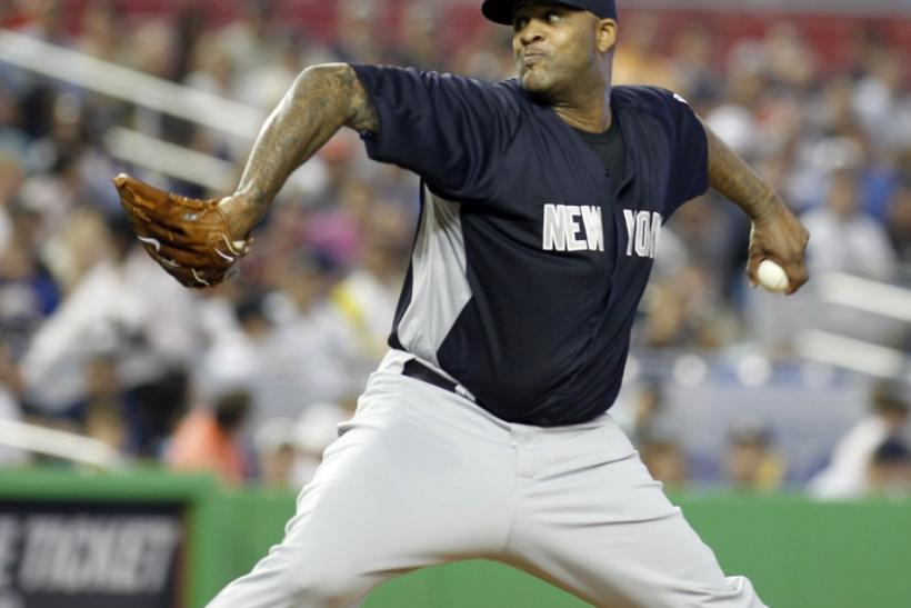 C.C. Sabathia went 19-8 with a 3.00 ERA for the Yankees in 2011.