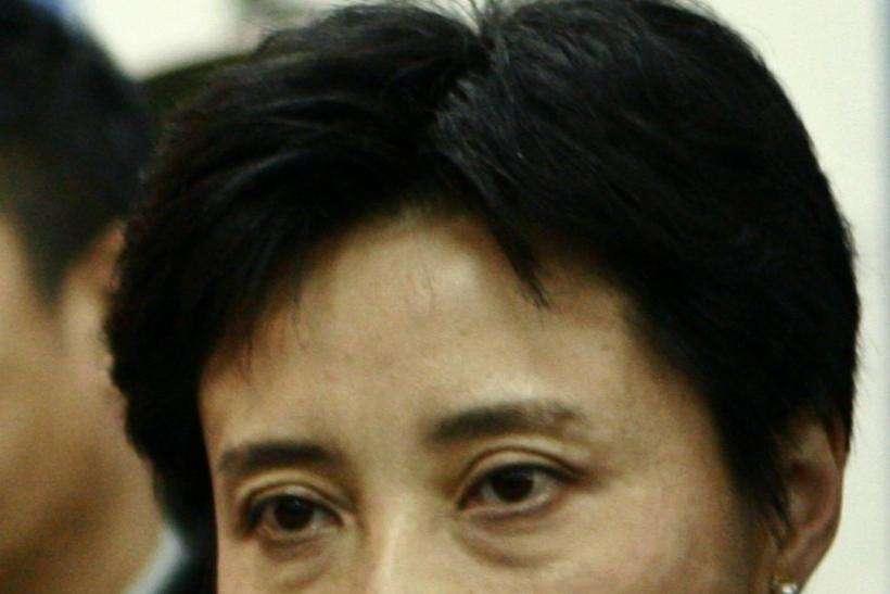 Gu Kailai, wife of Bo Xilai.