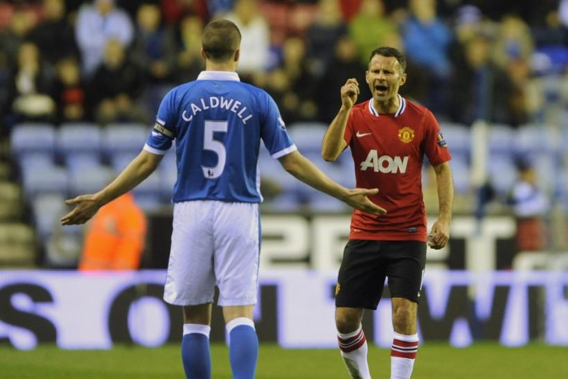 Watch highlights of Manchester United's defeat to Wigan in the Premier League.