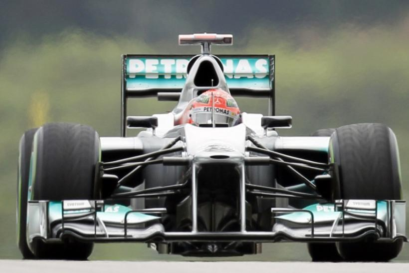 """Mercedes' innovative """"F-duct"""" rear-wing design has been declared legal by FIA stewards, ahead of the Chinese Grand Prix, following a protest by Lotus."""